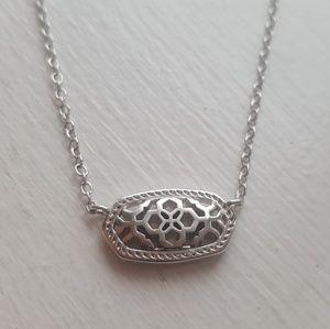 Kendra Scott Elisa Silver Pendant Necklace 💖